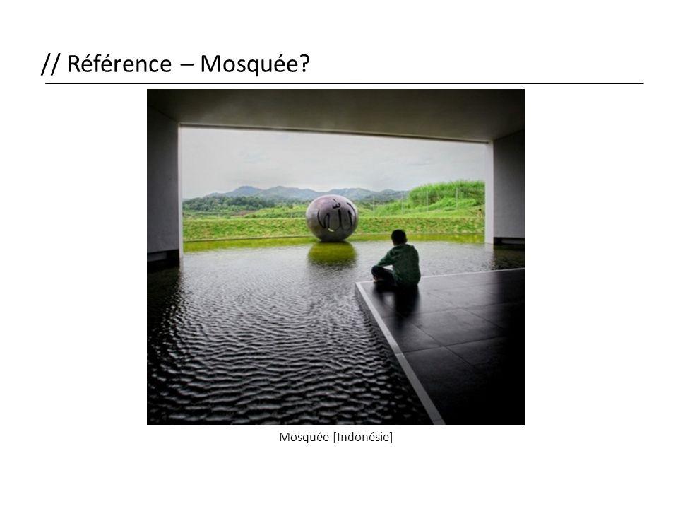 // Référence – Mosquée Mosquée [Indonésie]